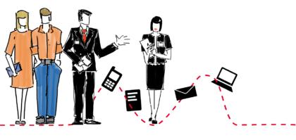 Slider 1 de l'accueil de Mobile in Motion agence de management de la relation client