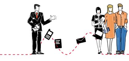 Slider 4 de l'accueil de Mobile in Motion agence de gestion de la relation client